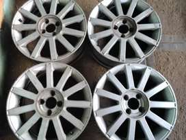 17inch ford fiesta St mag rims for sale fits rocam bakkie