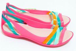 РАСПРОДАЖА! женские балетки мыльницы розовые Women's Crocs Isabella
