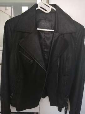 Ladies Genuine leather Woolworths jacket