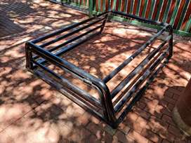 Toyota hilux extra cab cattle rail