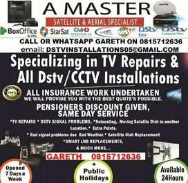 ARE YOU HAVING PROBLEMS WITH YOUR DSTV/OVHD/CCTV CALL/WHATSAPP