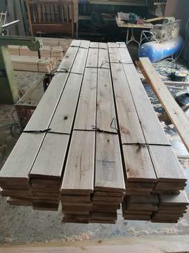 Decking. Solid wood