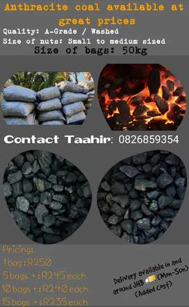 A-Grade Anthracite coal available at great prices