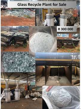 Glass Recycling Plant for Sale