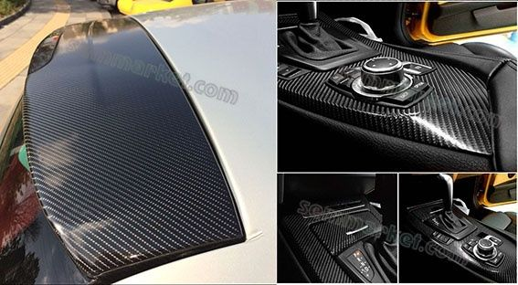 Авто пленка 5D Carbon CARLIKE 180µm под карбон глянцевая карбоновая Черкассы - изображение 7
