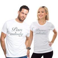 Koszulki dla pary młodej (Pan Młody /Panna Młoda)