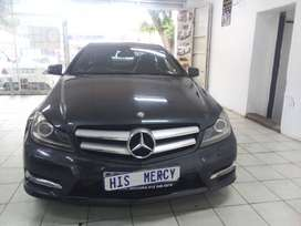 2012 MERCEDES BENZ C180 AMG SPORT COUPE AUTOMATIC