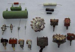 Резисторы конденсаторы диоды стабилитроны выключатели переключатели