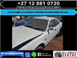 Toyota camry 2.0 automatic stripping for used spares for sale