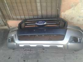 Ford Ranger T7 complete bumper and grille