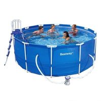Каркасный садовый бассейн басейн Bestway Steel Pro Frame 366х122см