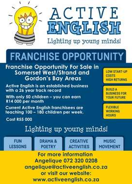 Business for SALE (Franchise)
