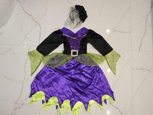 7-8 PAJĘCZARKA czarodziejka wróżka wiedźma czarownica strój karnawał Włodawa - image 1