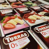 Шоколад Торрас. 75г. Torras. Испания. Опт