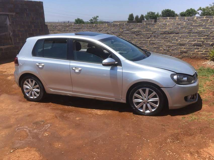 Golf 6 tsi striping for parts 0