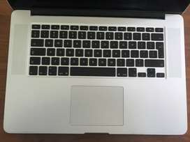 Mac Book Pro 2012 available for spare parts