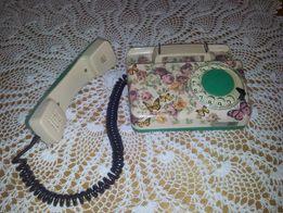 PRL retro ozdobny telefon Tulipan - 100% oryginał