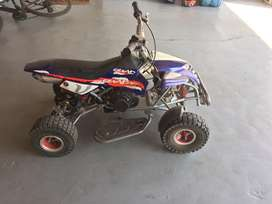 Its a quad bike for yong children ages 5-9