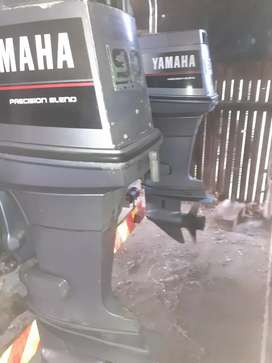 2 x Yamaha 90HP outboards.