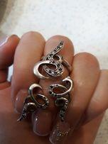 Серьги + кольцо