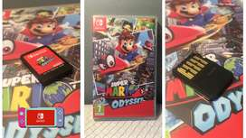 Super Mario Odyssey Physical Game