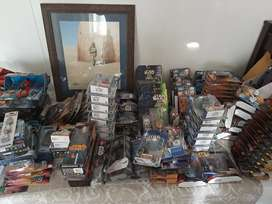 Star wars figures boxed and unboxed