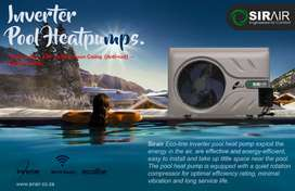 Sirair 7kw Inverter Pool Heat-pump Up to 28000 Litres – Ecoline