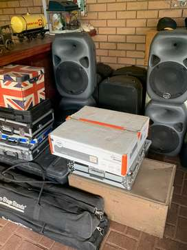 Relatively new sound equipment for large functions