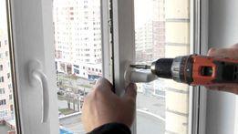 Ремонт и регулировка пластиковых окон и дверей. Сетки. Стеклопакеты.