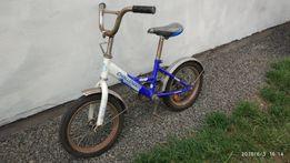 Малий дитячий велосипед 'Зайка', синій,