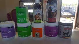 All pet nutritional suppliments