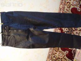 Кожаные женские брюки Спортбайк 44-46р.(обмен на смартфон,нетбук)