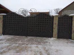 Ковка. Металоконструкції. Двері, ворота, сходи.Ковані ворота.