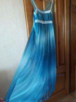 Легкое воздушное платье на выпускнойр.М-L