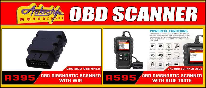 OBD Scanners with wifi and bluetooth. On-board diagnostics, self-diagn 0