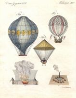 BALONY , SAMOLOTY reprodukcje XIX w. grafik do wystroju wnętrza