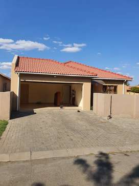 House to let in a security estate