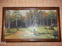 картина худ Товт. 1930-1940р 85-48 см