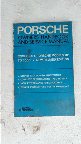 Porsche 356 Workshop Manual and Service Manual