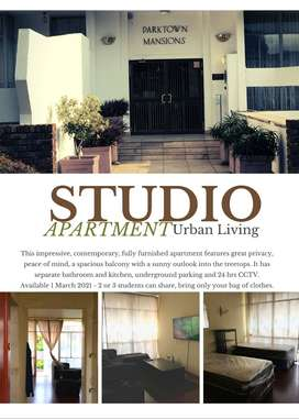 Parktown Fully Furnished Bachelor Apartment
