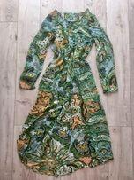 Плаття туніка накидка шифон стильне доросле і дитяче family look