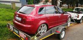 Audi A3 Sport back 1.8t Automatic Stripping