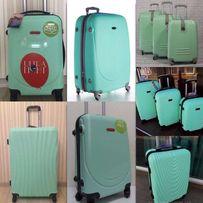 НОВОЕ ПОСТУПЛЕНИЕ Чемодан мятный валіза сумка на колесах дорожная