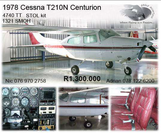 Cessna T210N for sale 0