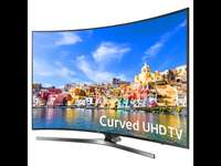 49 inch Samsung 4K curved TV 0