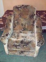 fotel duży ,masywny