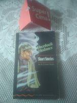 "książka ""Sherlock Holmes short stories"" Sir A.Conan Doyle angielskojęz"