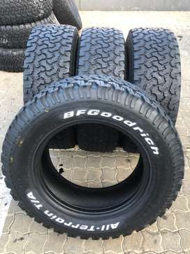 265 65 R18 BF Goodrich All Terrain Tyres