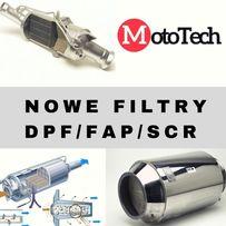 Nowy filtr DPF FAP SCR Wszystkie auta