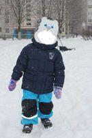 ЦЕНУ СНИЖЕНО Зимний термо костюм (полукомбинезон+курточка) Швеция H&M